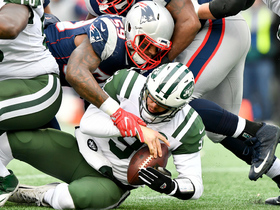 Patriots envelop Bryce Petty for big third down sack