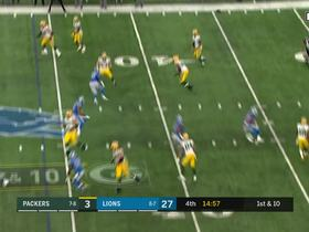 Packers get tricky, Cobb hits Hundley on throwback QB screen for first down