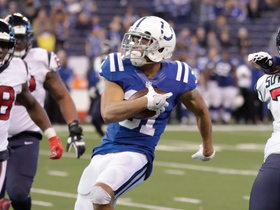 Quincy Wilson picks off Yates' pass for game-clinching INT