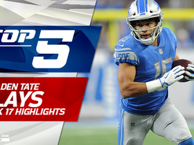 Top 5 Golden Tate plays | Week 17