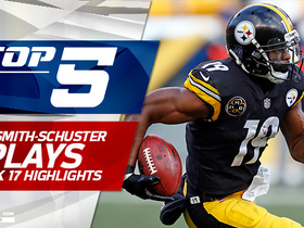 Top 5 JuJu Smith-Schuster plays | Week 17