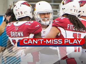Can't-Miss Play: Stanton breaks free and launches to Brown for 25-yard TD