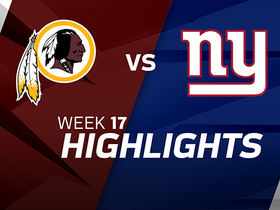 Redskins vs. Giants highlights | Week 17