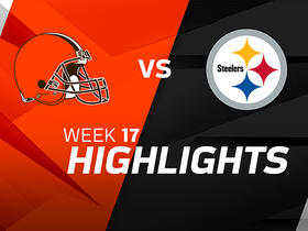 Browns vs. Steelers highlights | Week 17