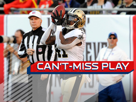 Can't-Miss Play: Kamara explodes for MONSTER 106-yard kickoff return TD