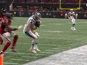 Bersin fakes out defender and hauls in 27-yard catch