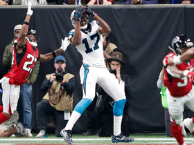 Funchess rips ball away from Alford on 4-yard TD toss from Cam
