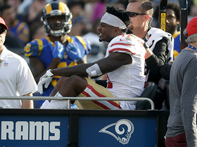 Marquise Goodwin injured on play