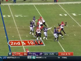 A.J. Green makes it look effortless as he snags a first-down zinger from Dalton