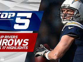Philip Rivers Top 5 throws | Week 17