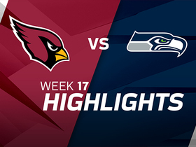 Cardinals vs. Seahawks highlights | Week 17