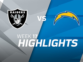 Raiders vs. Chargers highlights | Week 17