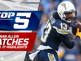 Top 5 Keenan Allen catches | Week 17