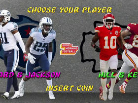 Burleson: Jackson, Byard vs. Hill, Kelce will be the matchup to watch