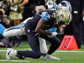 Drew Brees hits an open Brandon Coleman for 19 yards