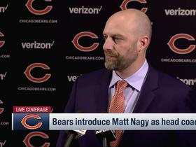 Nagy on why Bears are trending up: 'A lot of good players' on offense and defense