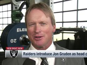Gruden on being back with Raiders: 'It's like Back to the Future, it's weird'