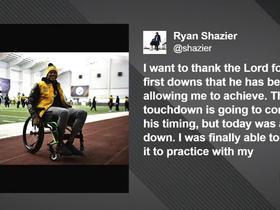 Kinkhabwala: Ryan Shazier surprised team at practice