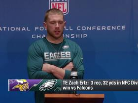 Zach Ertz: Vikings have 'most dynamic' defense we've faced this season