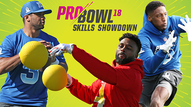415184b54b8 Pro Bowl Skills Showdown returns with new competitions - NFL.com