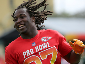 Kareem Hunt talks about his first Pro Bowl experience