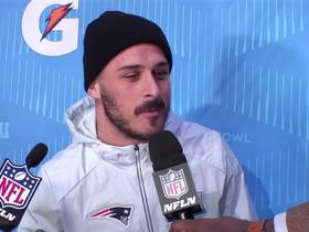 Amendola explains why he has framed Eagles jersey at home: 'Never forget they cut you'