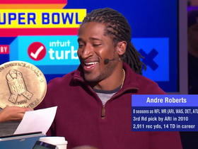 Andre Roberts wins the USAA 'Salute to Service' Award