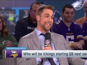Thielen: If Vikes can't keep QBs on roster, 'Cousins is out there'
