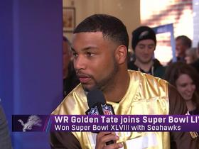 Golden Tate loves the new celebration rule: I played football because I grew up watching Primetime and T.O.
