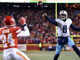 Marcus Mariota on TD vs. Chiefs: I was at the right place at the right time