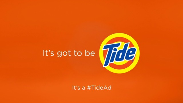 'It's a Tide ad,' with David Harbour
