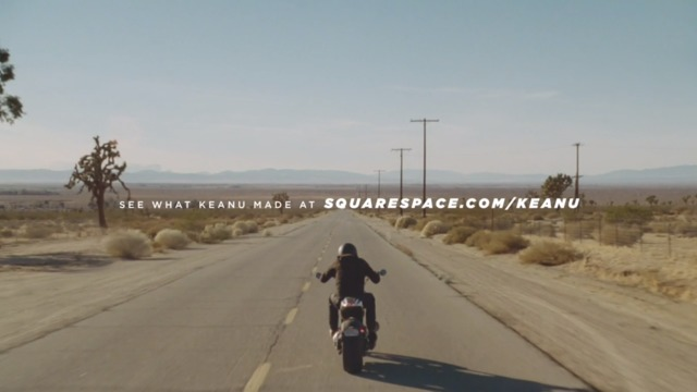 Squarespace: 'Make it happen,' starring Keanu Reeves