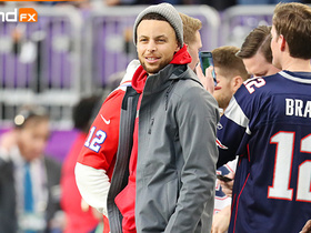 'Sound FX': Eagles players react to Steph Curry rocking Patriots gear