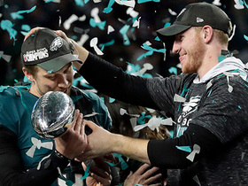 Rodney McLeod explains the selfless relationship between Carson Wentz, Nick Foles