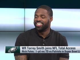 Torrey Smith on Eagles parade: 'I've never seen that many people in my life'