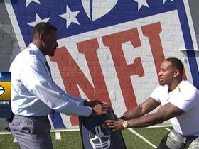 Mike Daniels, Willie McGinest demo what to watch for from D-Lineman at the NFL Combine