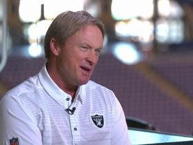 Jon Gruden explains how he plans to revamp Raiders' run game, why he stays away from social media