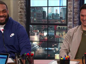 Brandon Graham and Chris Hogan talk Super Bowl LII