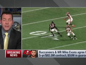 Rapoport: Bucs gave Mike Evans the contract security he was looking for