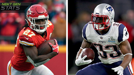 Next Gen Stats: Why Kareem Hunt, Dion Lewis are the two most elusive RBs in NFL