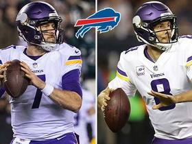 Pelissero: Bills interested in Case Keenum, Sam Bradford