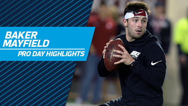 e0515dd0f65 Baker Mayfield working out for Dolphins on Wednesday - NFL.com