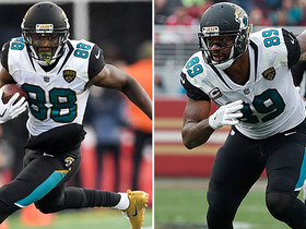Why did the Jaguars release Allen Hurns and Marcedes Lewis?