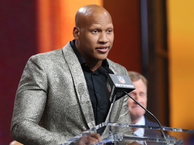 Deion, Terrell Edmunds get emotional after Shazier announces Steelers' pick
