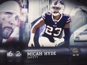'Top 100 Players of 2018': Micah Hyde | No. 62