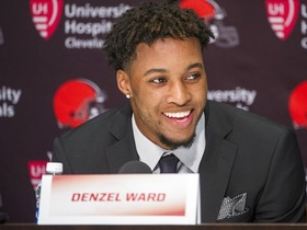 Damarious Randall: Denzel Ward has quick feet, great technique