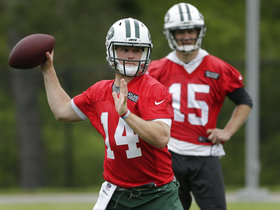 Which QB starts the most games for the Jets in 2018?