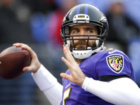 When should Joe Flacco be concerned about his job?