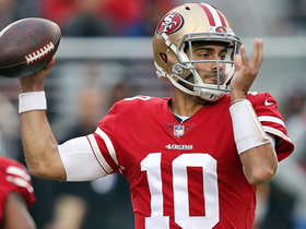 Why Jimmy G is franchise QB under most pressure in '18