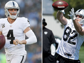 How will Carr use Nelson, Bryant? His brother weighs in